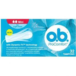 O.B. ProComfort Mini Tampons 32 ks